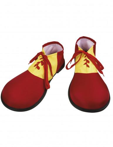 Scarpe da Clown rosse per adulto