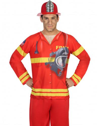 Maglia da pompiere uomo