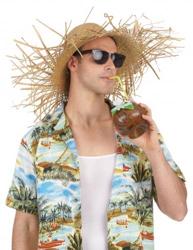Cappello di paglia Hawai adulto-1