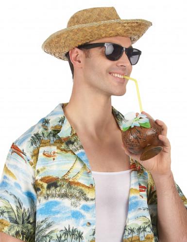 Cappello Panama in paglia adulto-1