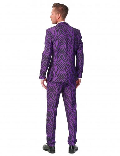Abito classico da tigre viola per uomo - Suitmeister™-1
