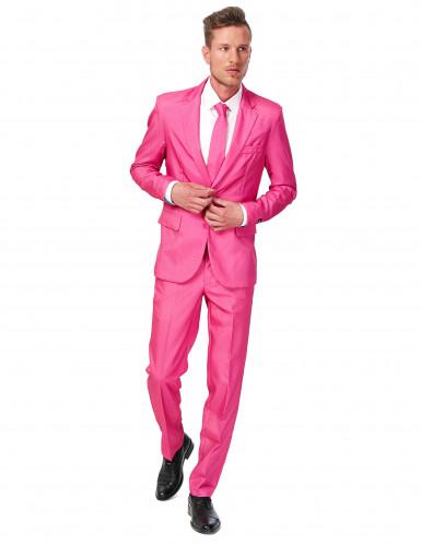 Costume Mr Solid rosa uomo Suitmeister™