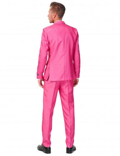 Costume Mr Solid rosa uomo Suitmeister™-1