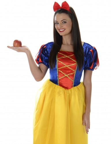 Costume da principessa donna con gonna gialla-1