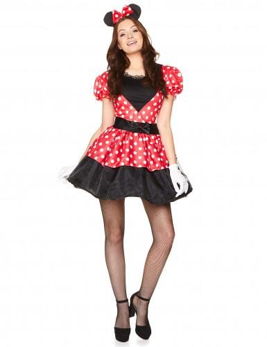 Costume da Miss Mouse per donna