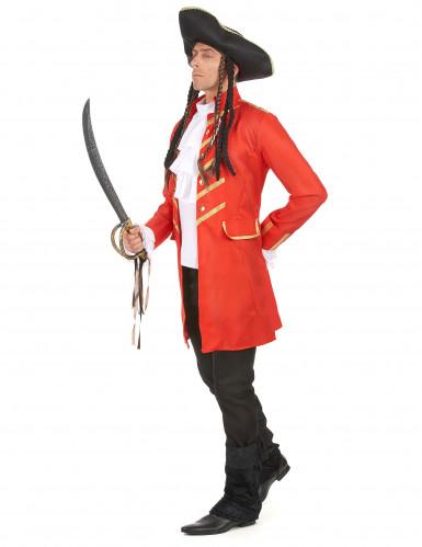 Costume pirata rosso da uomo-1