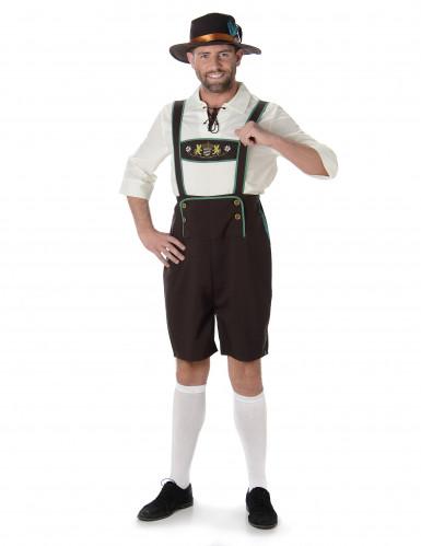 Costume da Bavarese con cappello per uomo