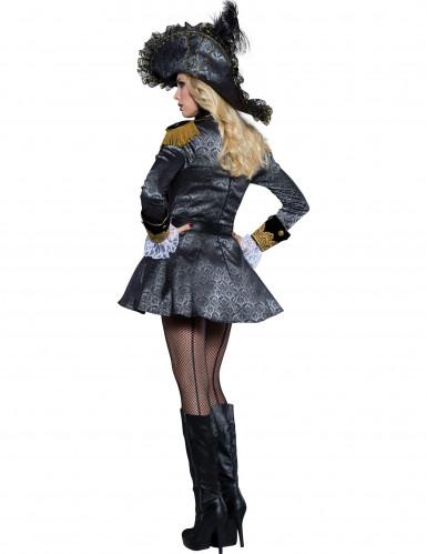 Travestimento Pirata di alto mare donna-1