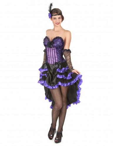 Costume ballerina del saloon per adulto
