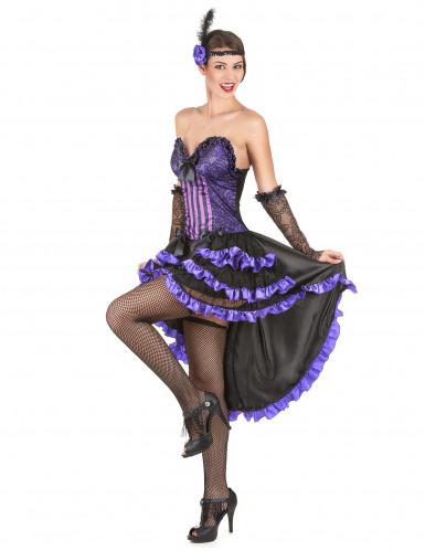 Costume ballerina del saloon per adulto-1