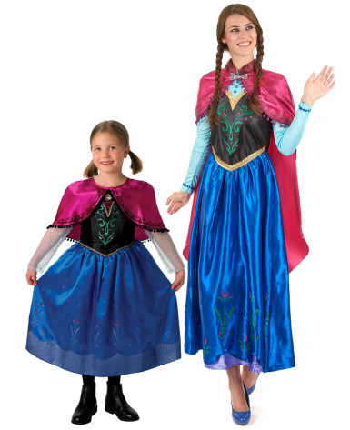 Travestimento coppia Anna Frozen™ madre e figlia