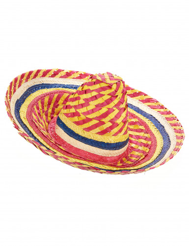 Sombrero messicano colorato per adulto