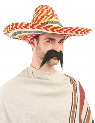 Sombrero messicano colorato per adulto-2