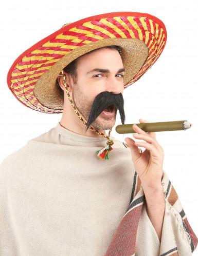 Cappello messicano adulto in paglia-1