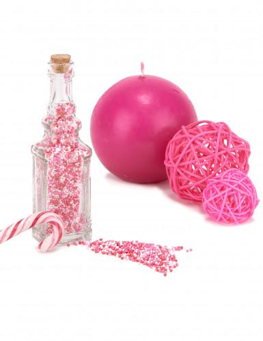 Bottiglia in vetro decorata-1