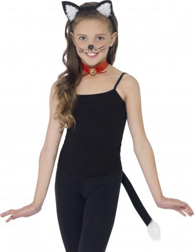 Kit di accessori da gatto nero per bambino