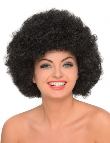 Parrucca afro/clown nera donna