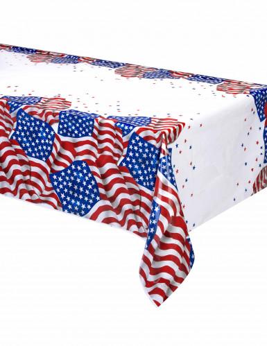 Tovaglia di plastica bandiera Stai Uniti