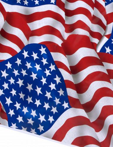 Tovaglia di plastica bandiera Stai Uniti-1