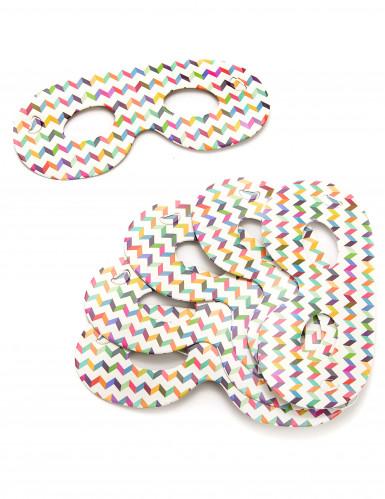Confezione di 6 mascherine multicolore