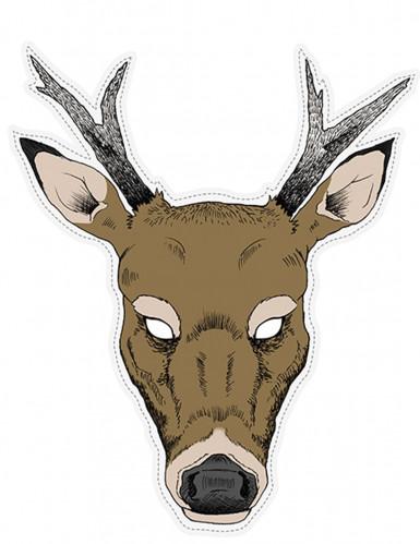 Maschera da renna di carta
