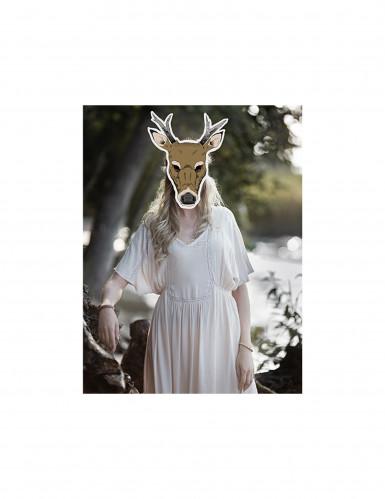 Maschera da renna di carta-1