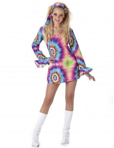 Costume hippie psichedelico da donna