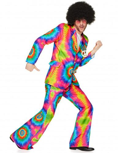 Costume hippie psichedelico da uomo
