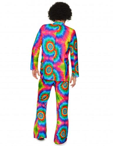 Costume hippie psichedelico da uomo-2