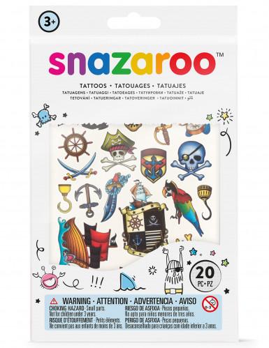 20 Tatuaggi non permanenti per bambino Snazaroo™