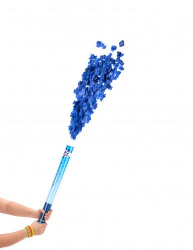 Cannone sparacoriandoli blu 60 cm