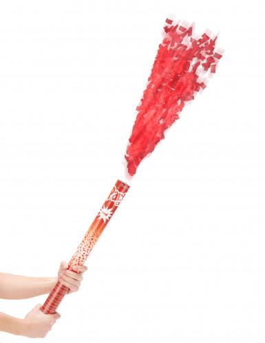 Cannone sparacoriandoli rossi 60 cm
