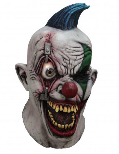 Maschera integrale da clown agghiacciante - Halloween