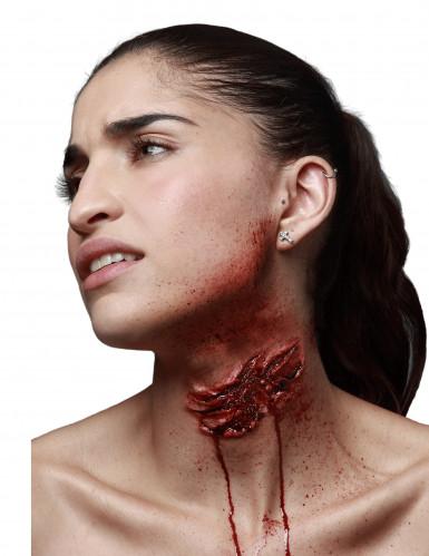 Trucco Halloween: morso dello zombie