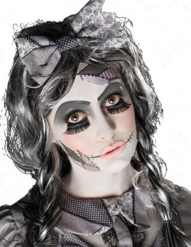 Kit trucco bambola inquietante per adulto Halloween