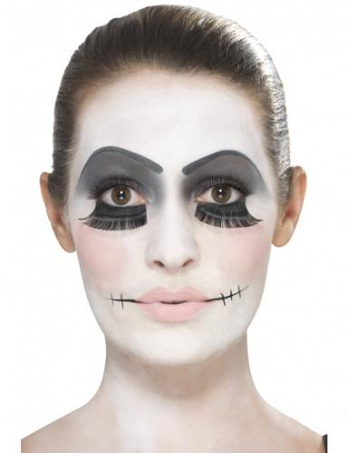 Kit trucco bambola inquietante per adulto Halloween-1