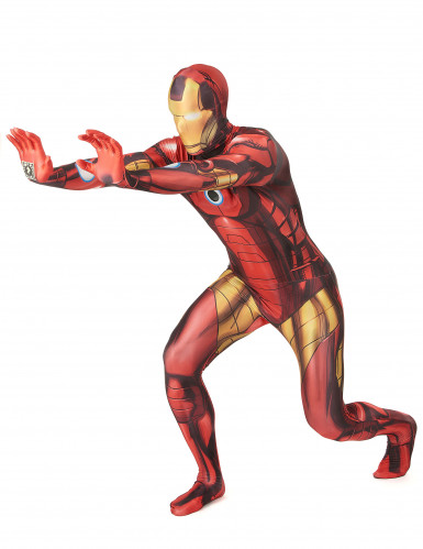 Costume Morphsuits™ Zappar Iron man™ adulto-1