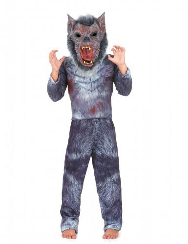 Costume da lupo mannaro per bambino - Halloween