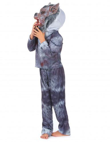 Costume da lupo mannaro per bambino - Halloween-1