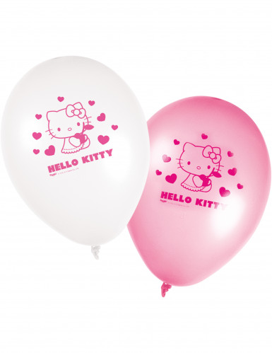 8 palloncini Hello Kitty™