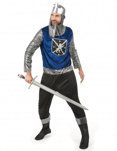 Costume coppia medievale blu dulto-1