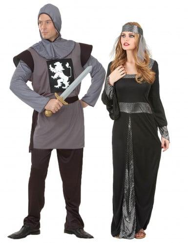 Costume coppia medievali adulto
