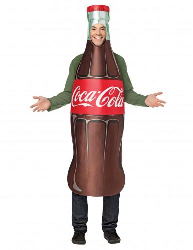 Costume da bottiglia di Coca Cola™ per adulti