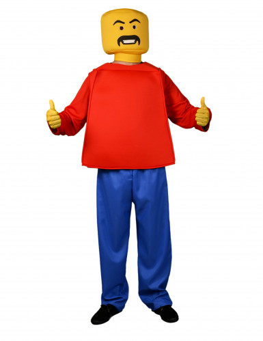 Costume da Lego™ per adulto  - Morphsuits™