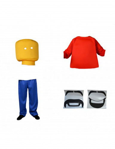 Costume da Lego™ per adulto  - Morphsuits™-1