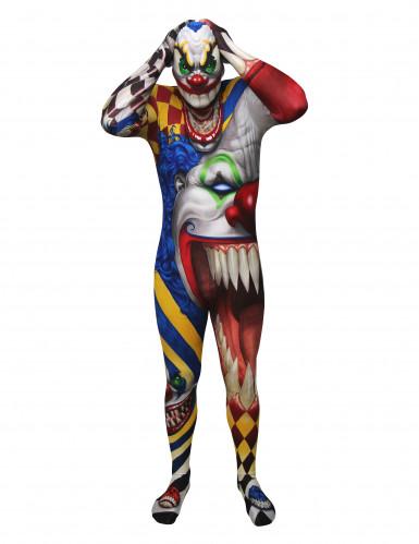 Costume da Clown Malefico Morphsuits™ per adulto