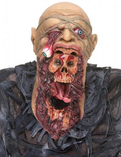 Maschera zombie terrificante adulto
