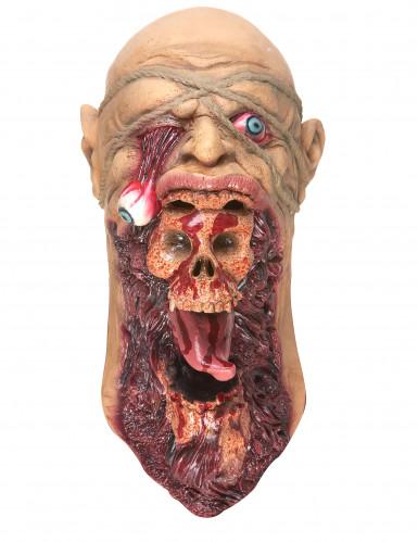 Maschera zombie terrificante adulto-2