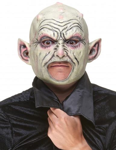 Maschera da gnomo con pustole in lattice