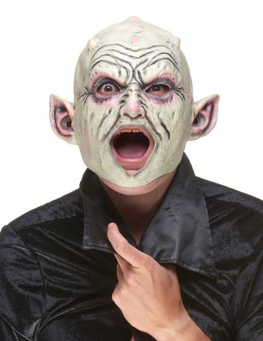 Maschera da gnomo con pustole in lattice-1